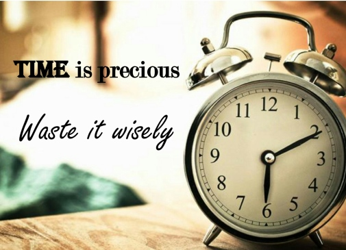 Image result for time is precious waste it wisely clock